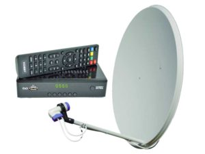 Супутникове та Т2 телебачення